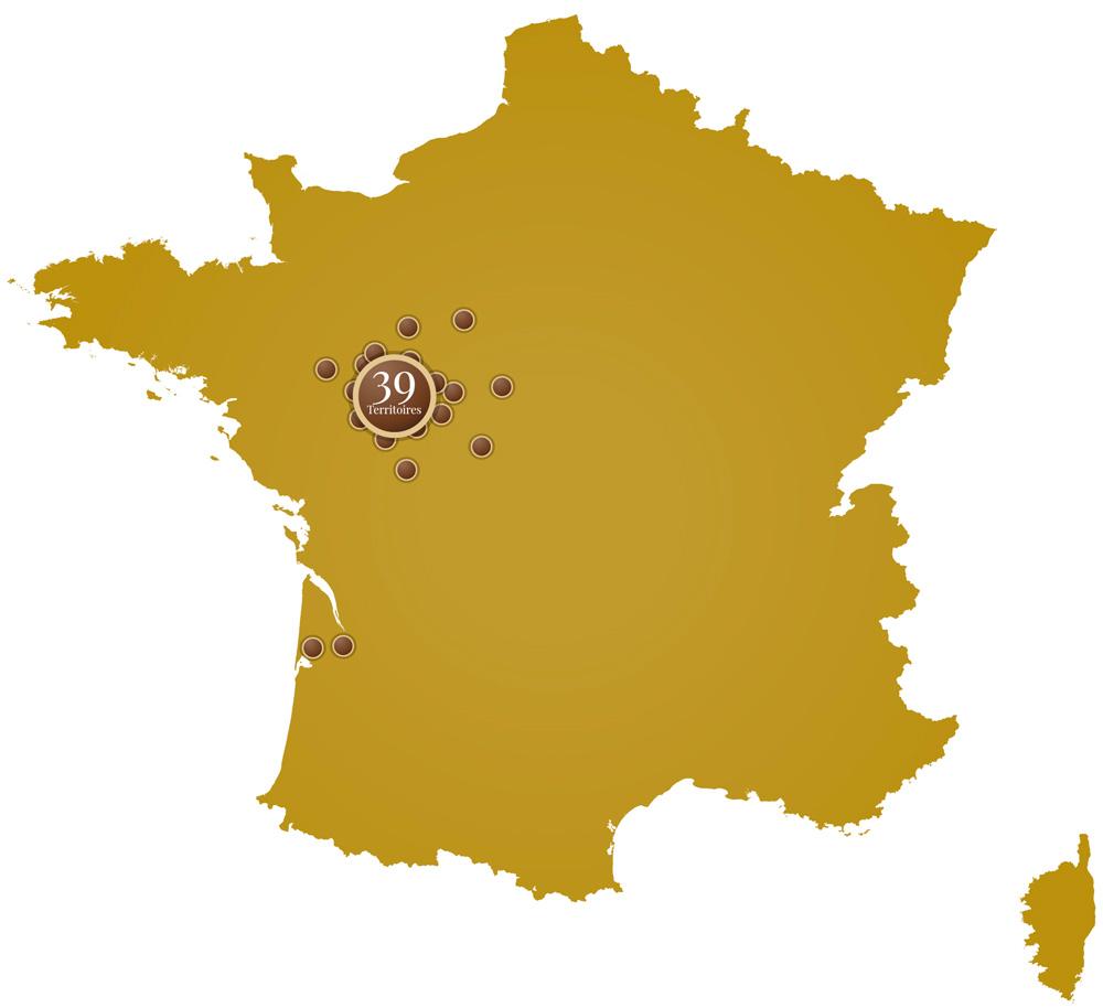 Territoires de Chasse de l'Equipage du Bois de Parnay